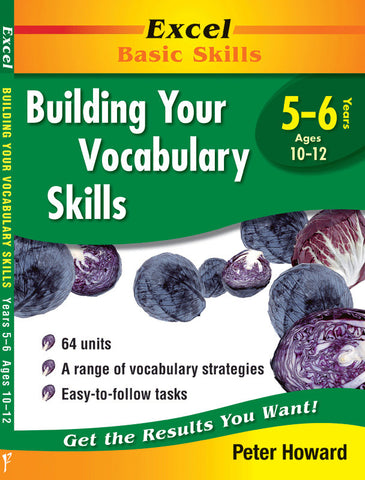 Excel Basic Skills - Building Your Vocabulary Skills Years 5–6