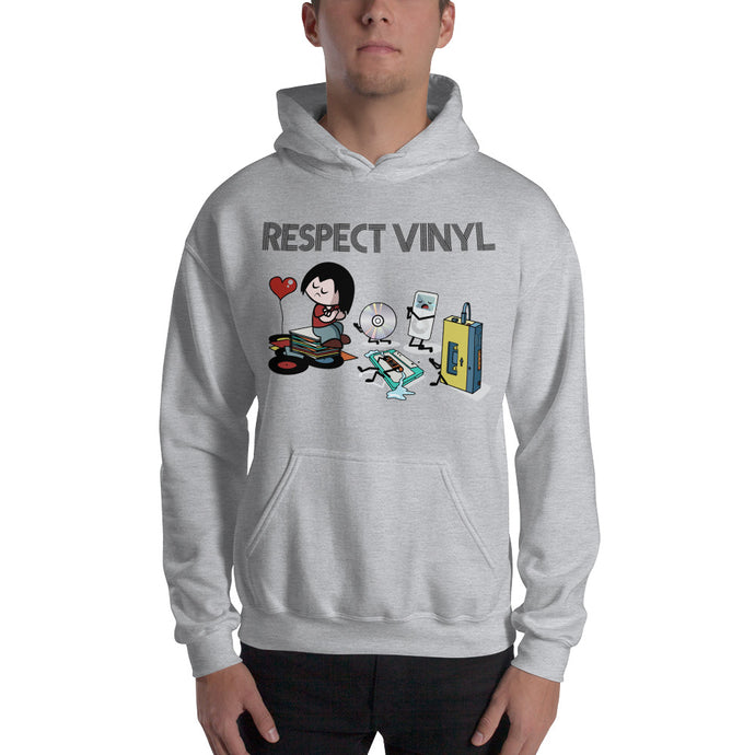 Statements • Respect Vinyl • Kapuzenpulli