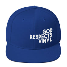 Load image into Gallery viewer, God respects Vinyl II • Snapback Cap