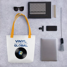 Load image into Gallery viewer, Vinyl IS global • Respect Vinyl • Tragetasche