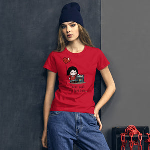 First love • Respect Vinyl • Frauen Kurzarm T-Shirt