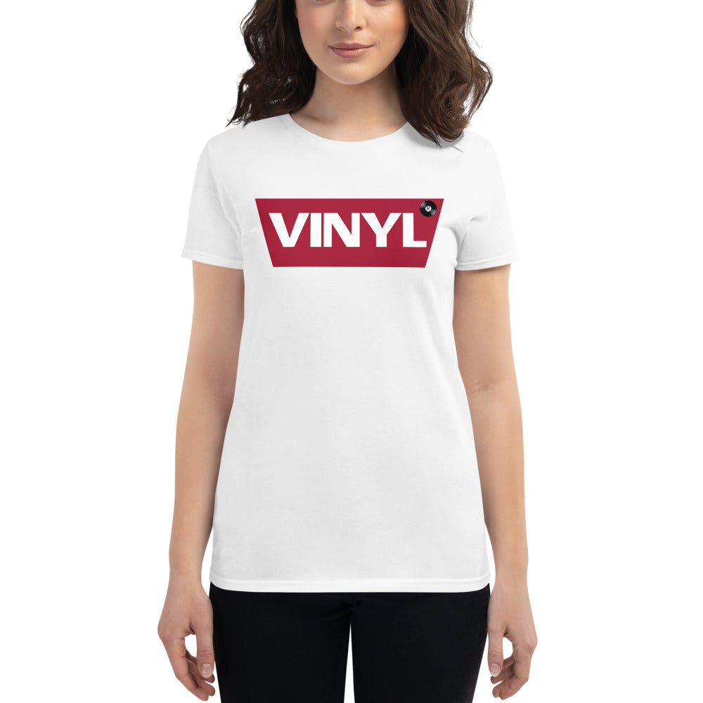 The original Vinyl • Respect Vinyl • Frauen Kurzarm T-Shirt