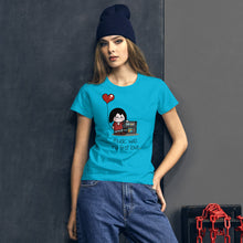 Load image into Gallery viewer, First love • Respect Vinyl • Frauen Kurzarm T-Shirt