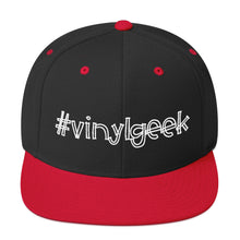 Load image into Gallery viewer, Vinylgeek • Respect Vinyl • Snapback Cap