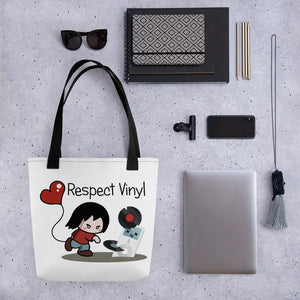 Kill your ipods • Respect Vinyl • Tragetasche