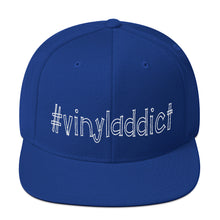 Load image into Gallery viewer, Vinyladdict • Respect Vinyl • Snapback Cap