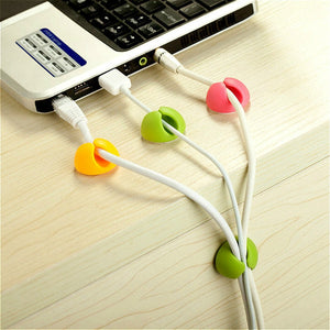 5Pcs Solid Desk Wire Set
