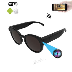 Smart Glass WiFi Camera for IOS Android Full HD 1080P