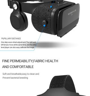 Bobovr Z5 Virtual Reality 3D Headset For Smartphone