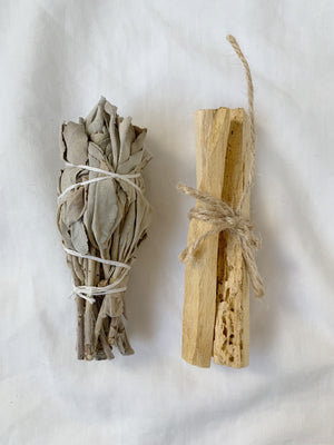 Cleansing Bundle - Sage & Palo Santo - Mystic Madness
