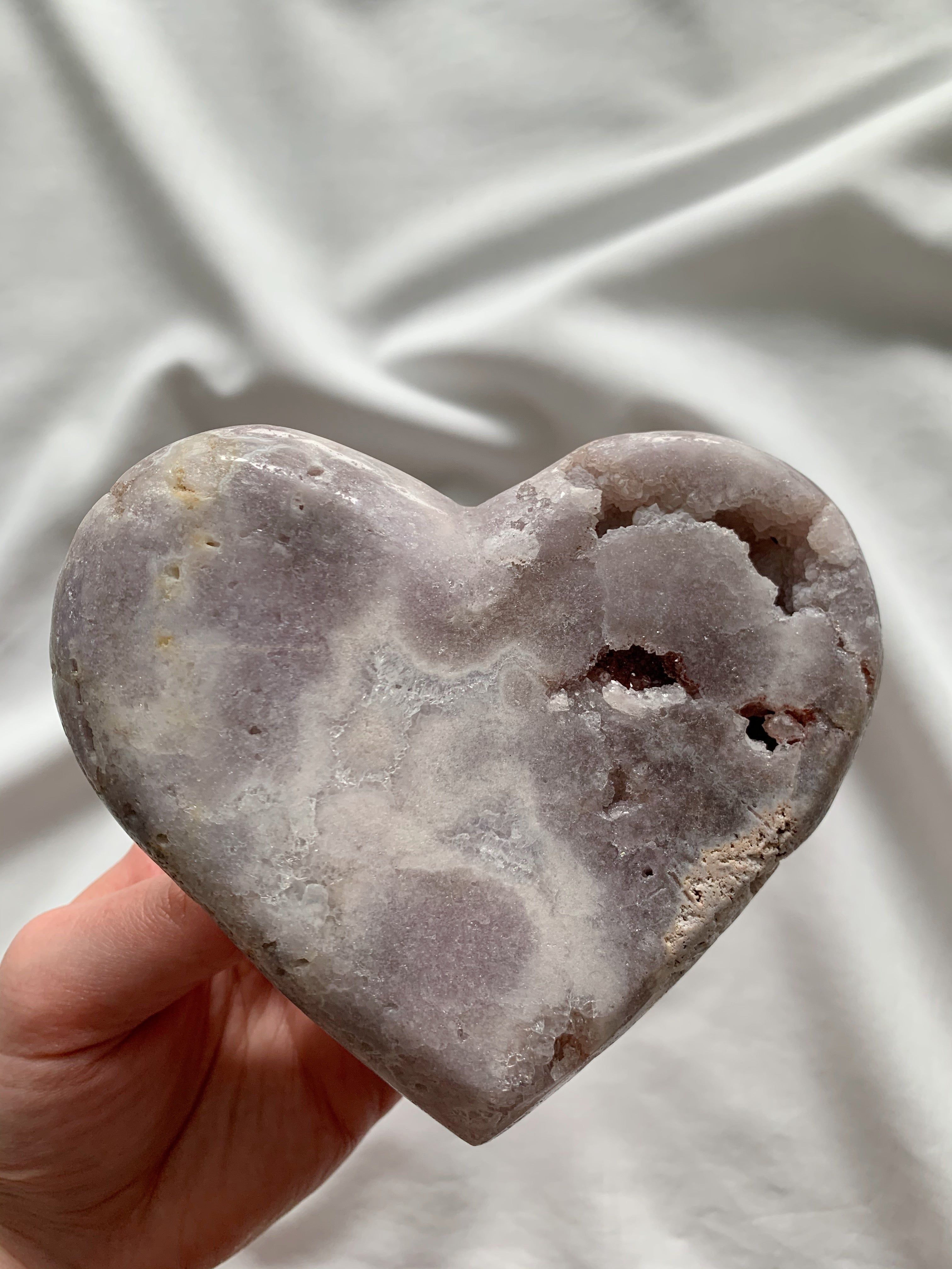 mystic madness pink amethyst heart