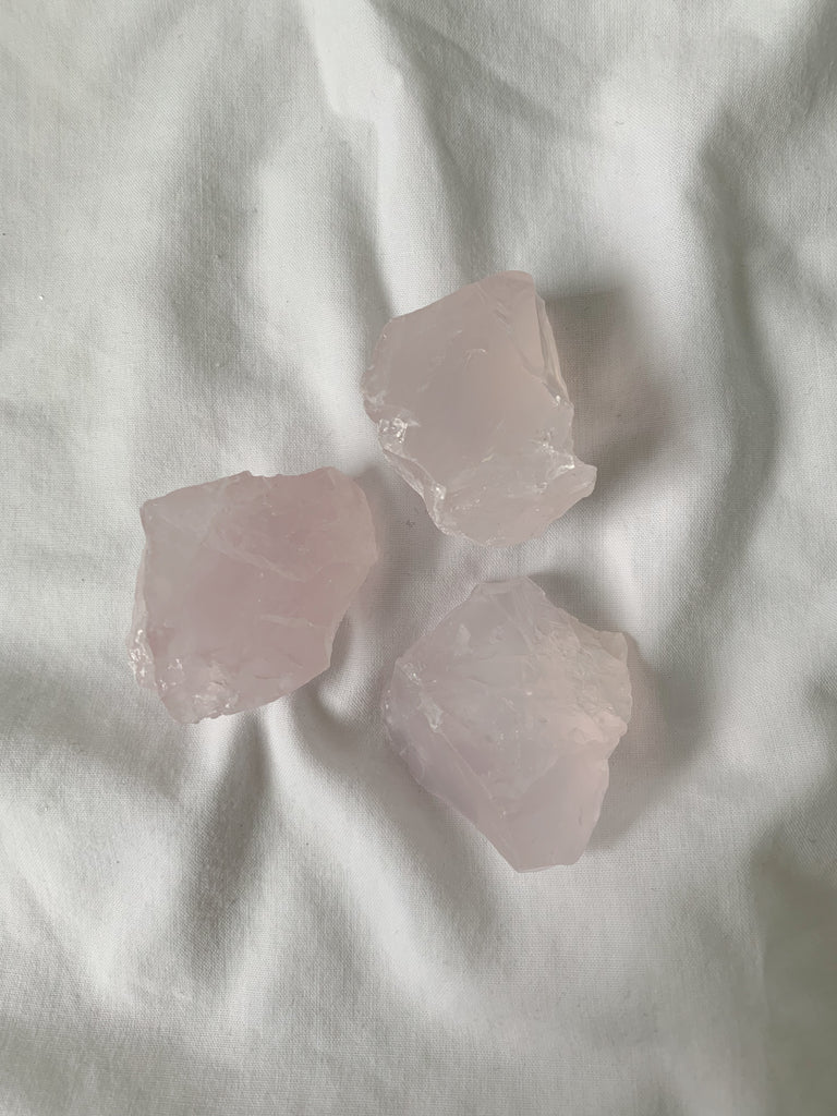 Small Rose Quartz Chunks - Mystic Madness