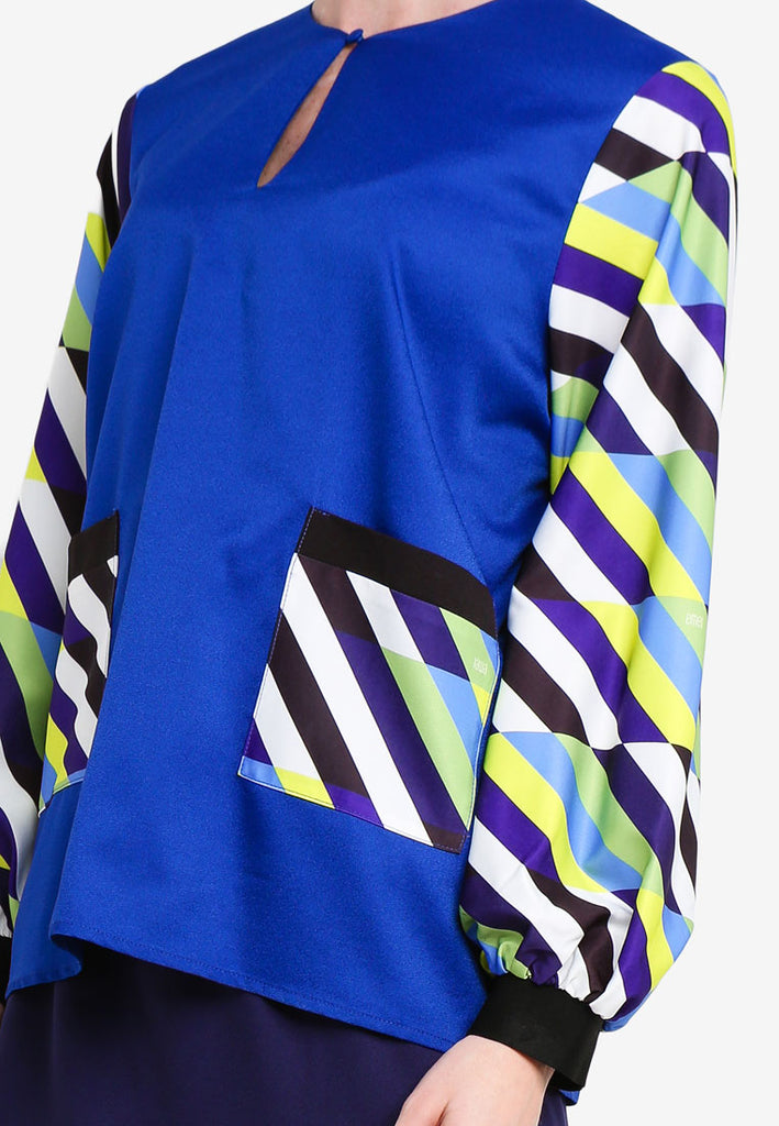 LA BOCA-MODERN KURUNG KEDAH W/ POCKETS AND CUFFS - PRINT4