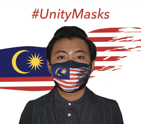 #UnityMasks - PACK SATU - Face Masks (Single Pack)