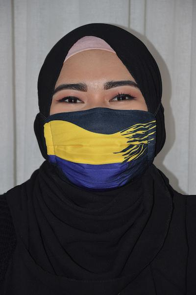 #UnityMasks - Perlis Edition Reusable Face Masks (2 Pack: Perlis Flag & Malaysian Flag)