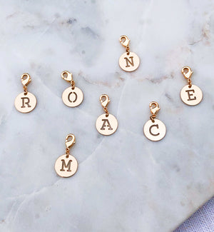 Charms Lettre