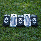 Stepzz Grip Socks - 5 Pack (FREE STAYS + GRIP SOCKS)