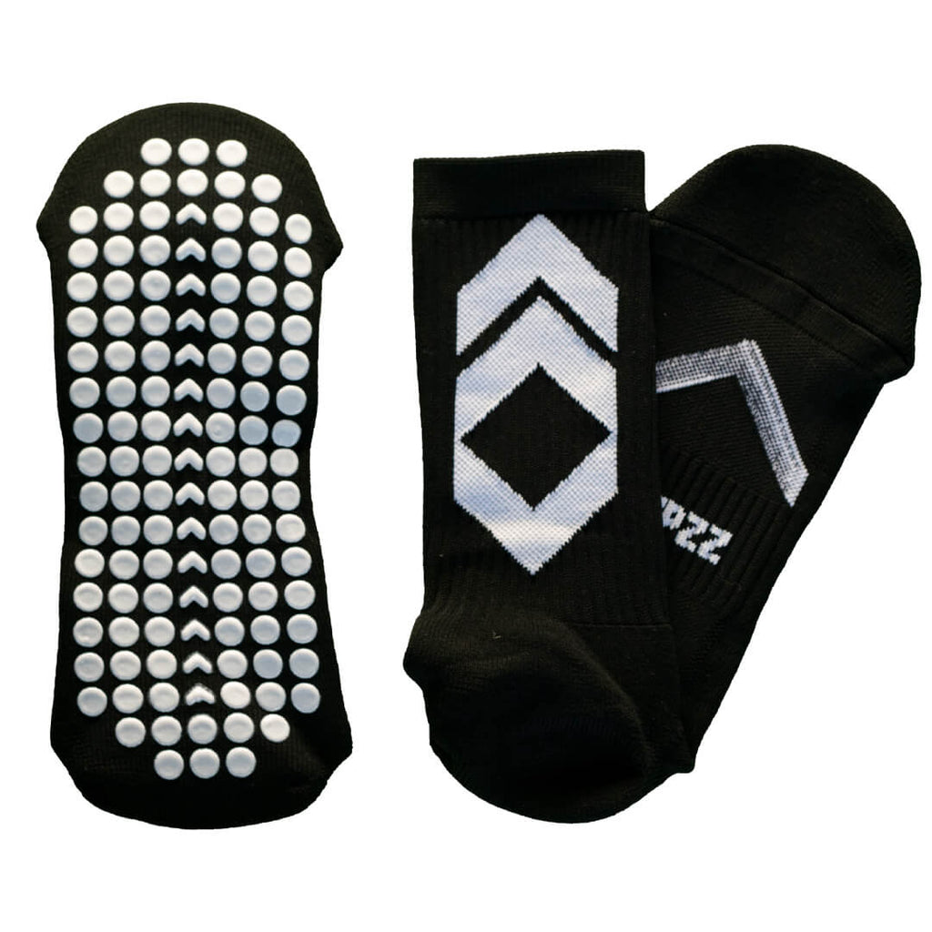 Stepzz Grip Socks - Black