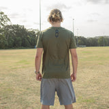 Stepzz T-Shirt - Khaki Green