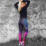 Women Leggings Slim High Waist Elasticity Leggings Fitness Printing leggins Breathable Woman Pants Leggings Push Up Strength - celebrityfashion-in