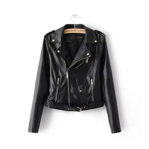 New 2019 Celebrity Women Leather Jacket - celebrityfashion-in