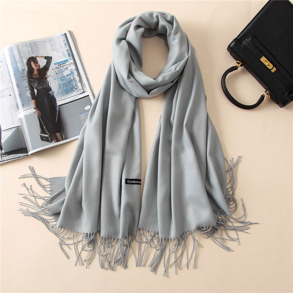 Women scarf / Cashmere Scarf/ Pashmina scarves - celebrityfashion-in