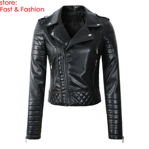 Celebrity Women Leather Jacket - celebrityfashion-in