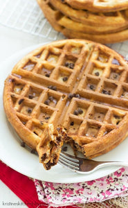 KETO CHOCOLATE CHIP WAFFLES