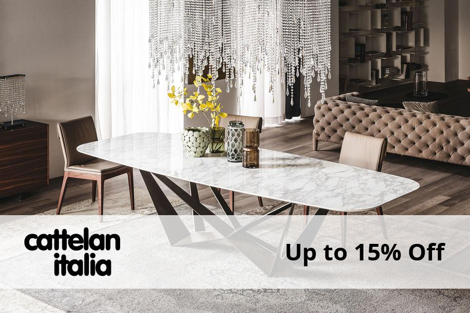 Cattelan Italia - Up to 15% Off until Mon 4th May