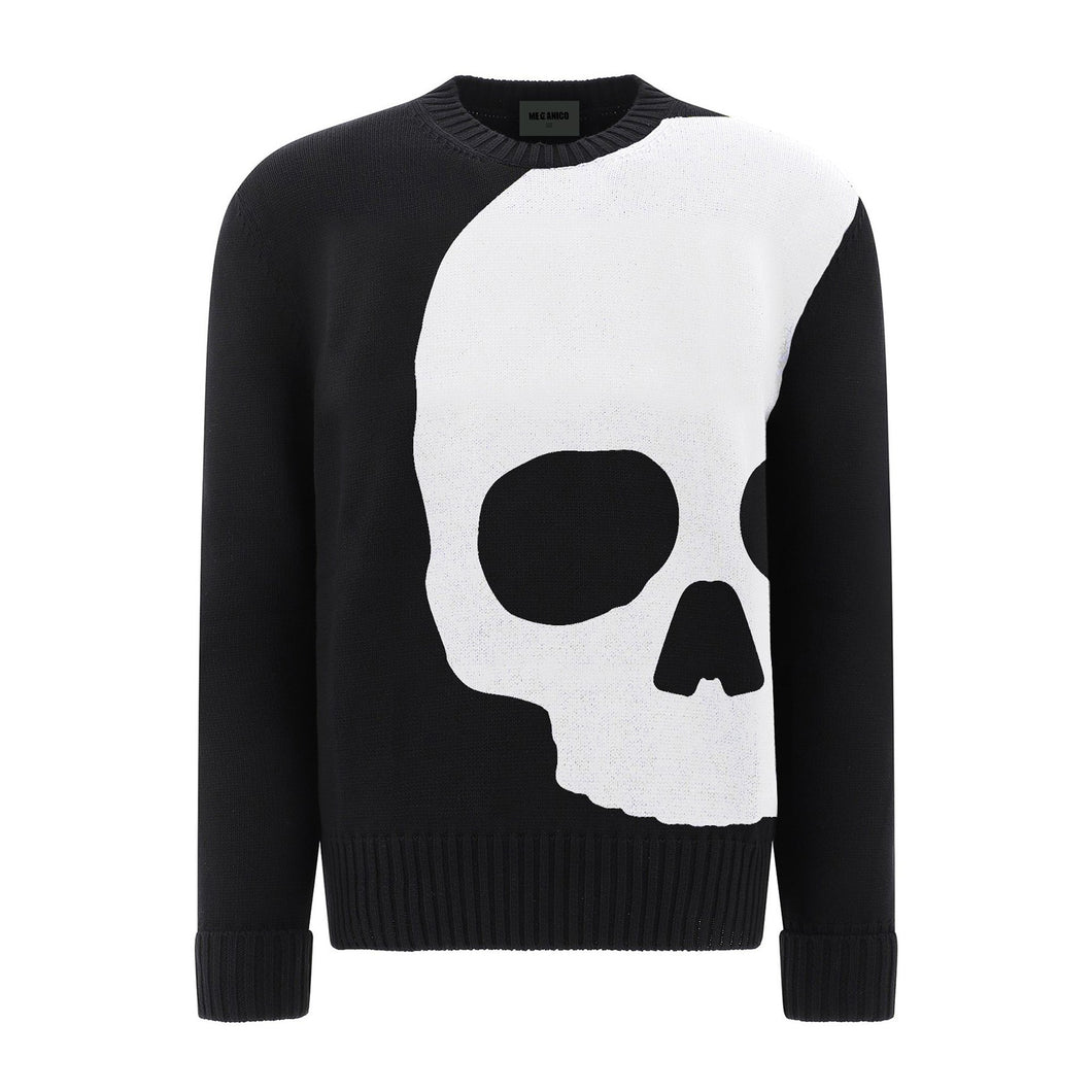 Knitted Sweater Skull Special by Mecanico Jeans