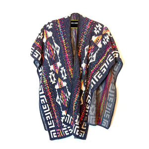 Poncho Denim Full Color by Mecanico Jeans