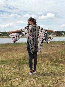 Poncho Jaspe Full Color by Mecanico Jeans