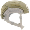 Galvion Caiman Ballistic Applique for use with the Caiman Hybrid Helmet (Not Included) - Tan499