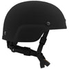 Galvion Batlskin Viper A3 Full Cut Helmet with MSS Liner Side Black