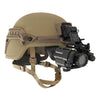 Galvion Batlskin Viper Front Mount Tan499 with NVG PVS14