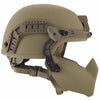 Galvion Batlskin Viper Mandible Guard Tan499 installed