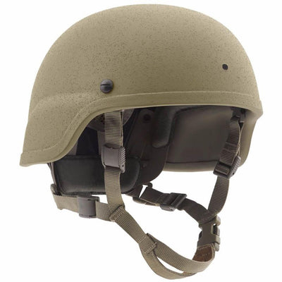 Galvion Batlskin Viper A3 Full Cut Helmet with MSS Liner Tan499