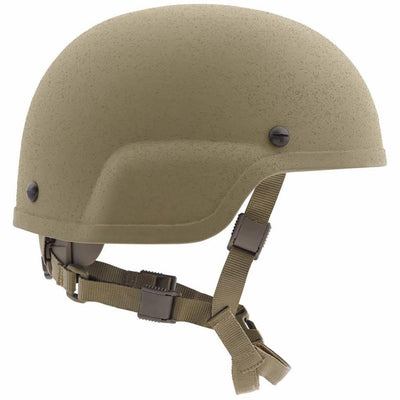 Galvion Batlskin Viper A3 Full Cut Helmet with MSS Liner Tan499 Side