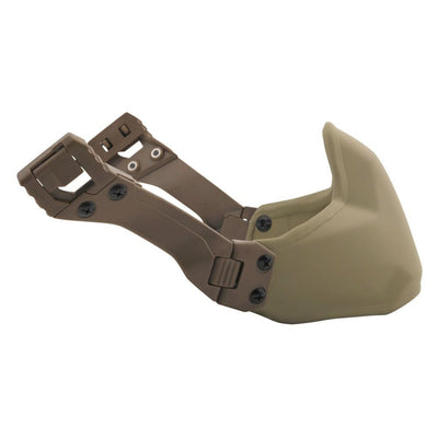 Galvion Caiman Ballistic Mandible Guard Low Profile - Tan499
