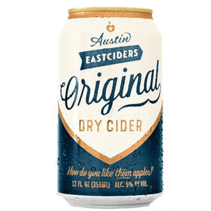 Austin East Ciders Original Dry Cider