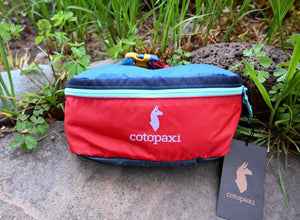 Cotopaxi Fanny Pack - Red/Blue