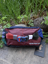 Load image into Gallery viewer, Cotopaxi Fannypack - Navy w/Baby Blue Zipper