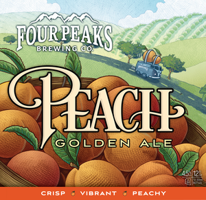 Four Peaks Peach 12oz Can