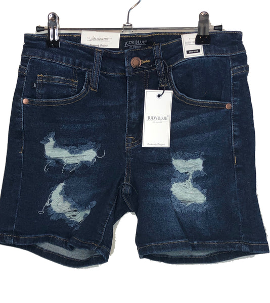 Mid Length Dark Blue Short