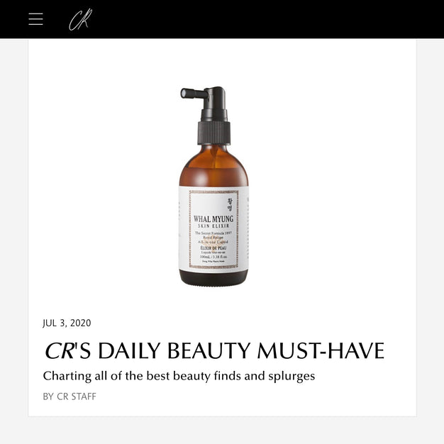 CR'S DAILY BEAUTY MUST-HAVE