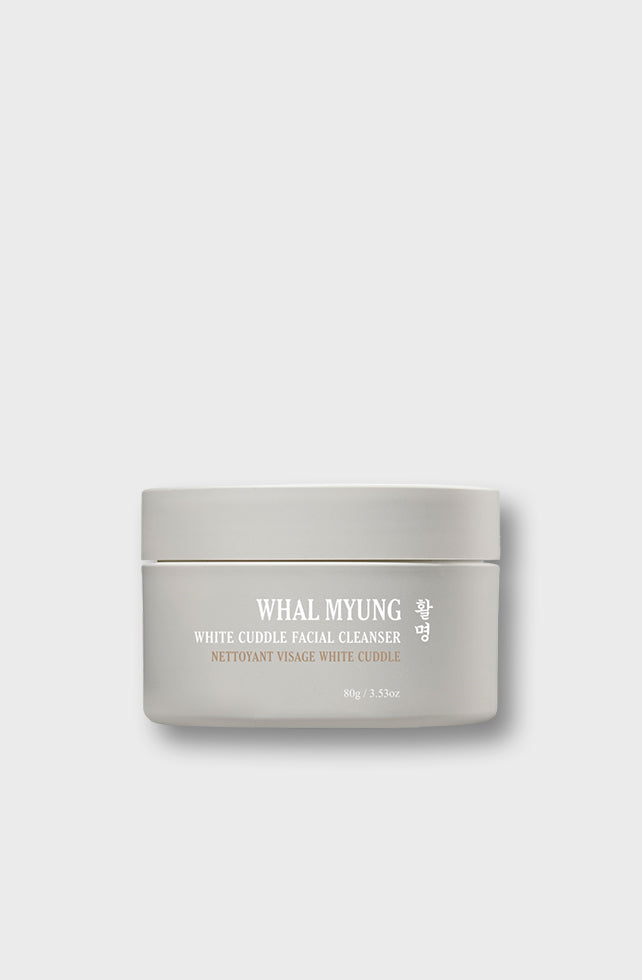 WHITE CUDDLE FACIAL CLEANSING BALM