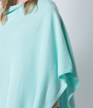 Sea Glass Green Poncho