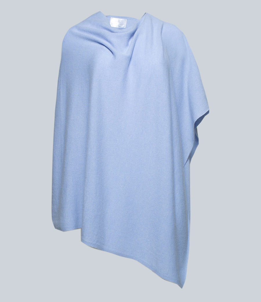 Waterfall Blue Poncho