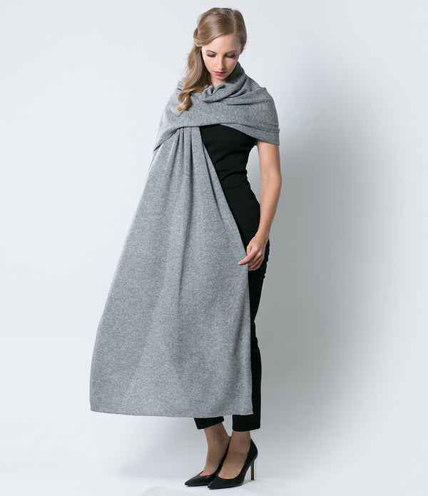 Heather Gray Wrap