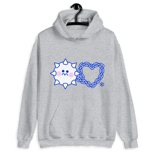 LOVE HURTS IV® Hoodie! (white, grey)